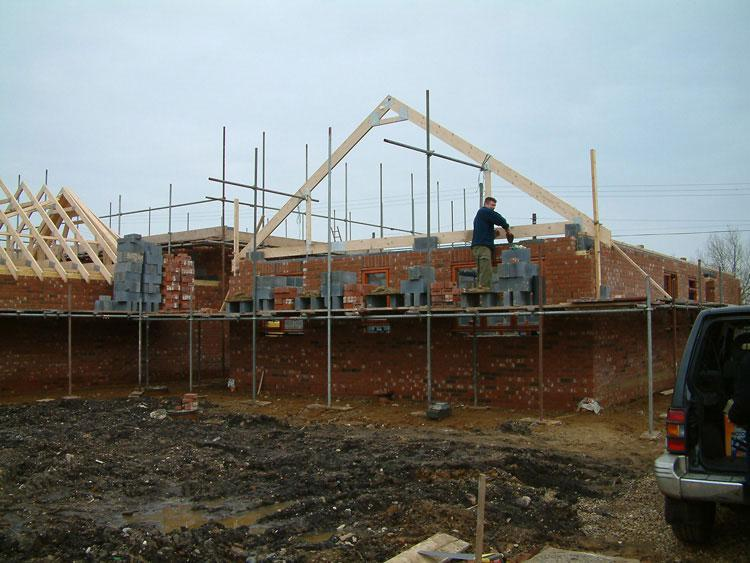 Image 9 - gable end of a 5 bed house built near Downham market