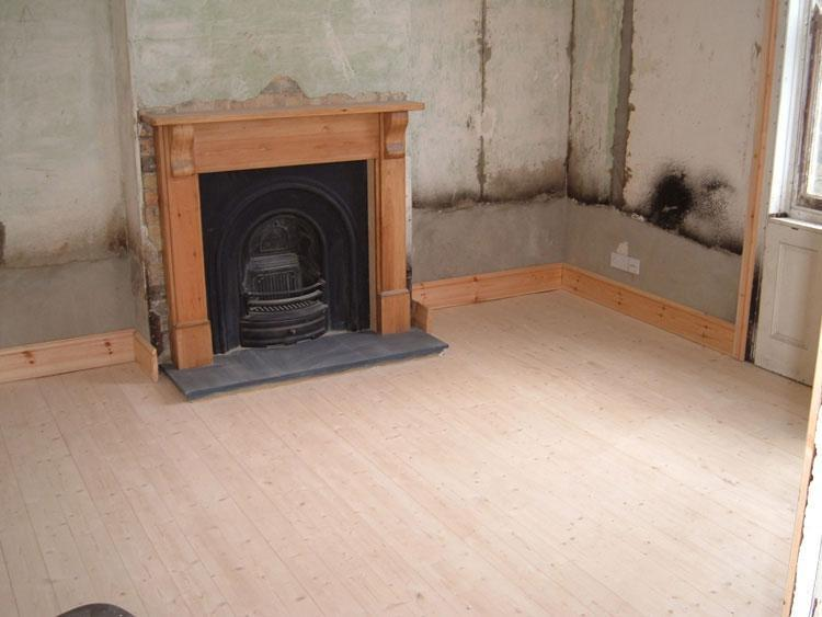 Image 13 - new fireplace and wooden floor in downham market