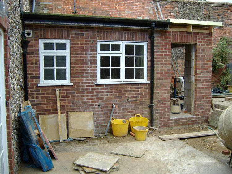 Image 12 - kitchen extention in walsingham by s1 builders norfolk