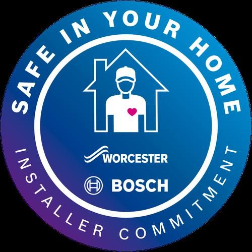 Worcester/Bosh Installer Commitment logo