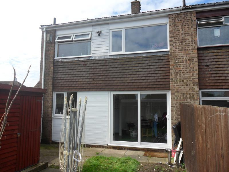 Image 19 - Back of double glazed house