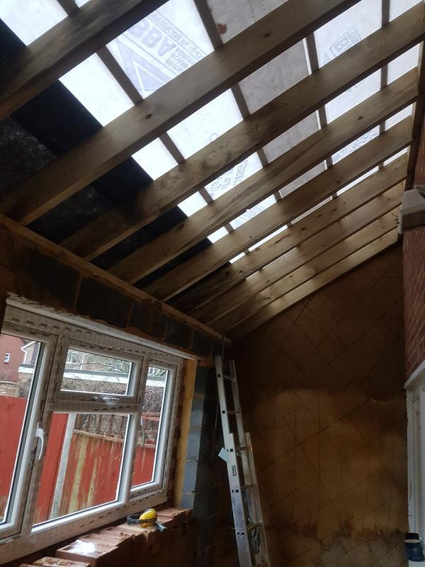 Image 66 - New extension roof