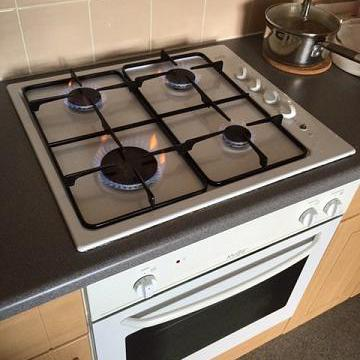 Image 14 - New gas hob installation