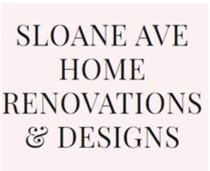 Sloane Ave Renovations logo