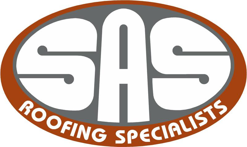 SAS Roofing Specialists logo