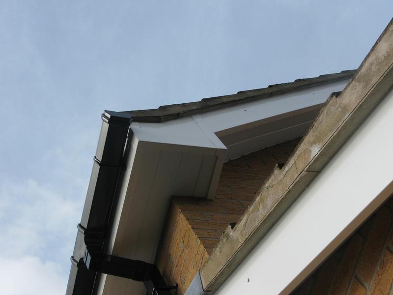 Image 1 - Fascia soffits & gutter replacement in Loughborough