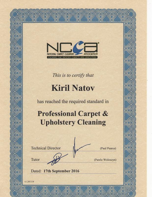 Image 15 - National Carpet Cleaning Association Certificate