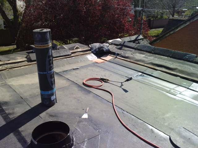 Image 15 - Flat roofing in progress