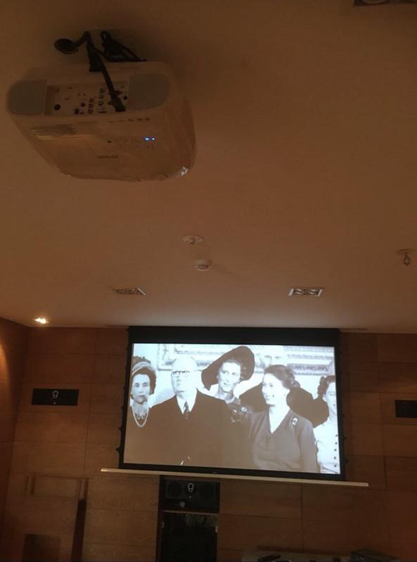 Image 3 - Projector Screen and System Install