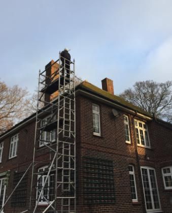 Image 12 - Scaffold Tower for Property Maintenance