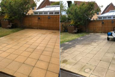 Image 6 - Before and After Patio Clean