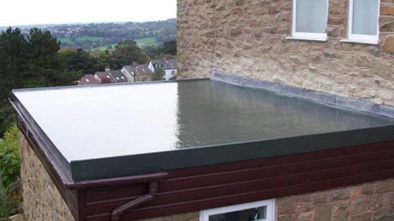 Image 27 - Fibreglass roof