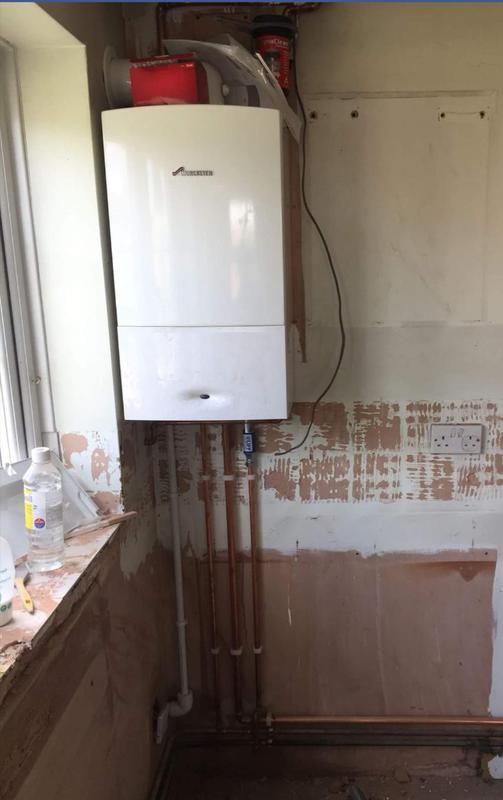 Image 24 - New Combi boiler installation