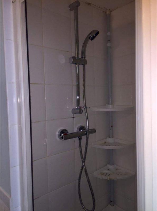 Image 7 - New bar shower valve and riser kit installation
