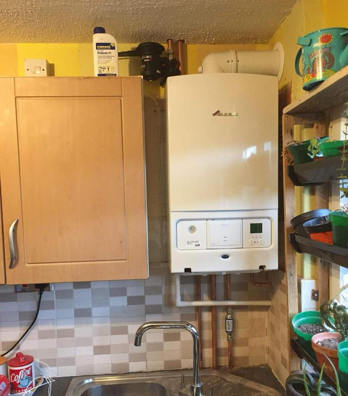 Image 26 - New Combi boiler installation