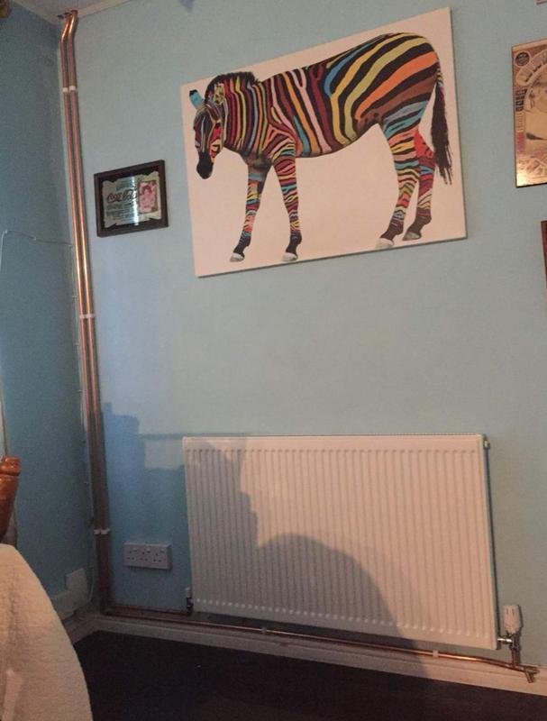 Image 27 - New radiator installation