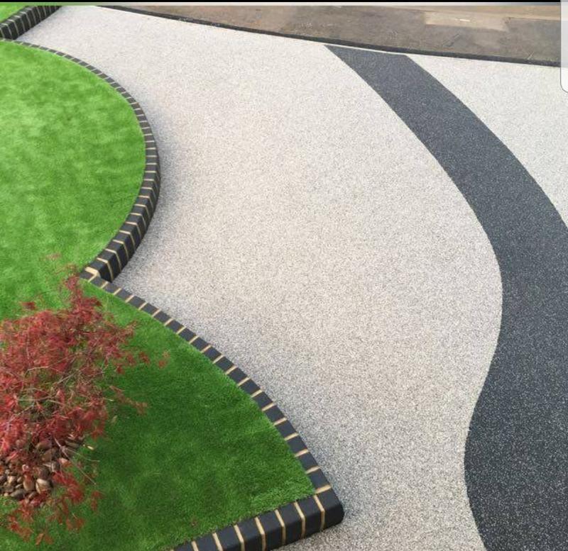 Image 4 - Resin bound driveway sliver grey