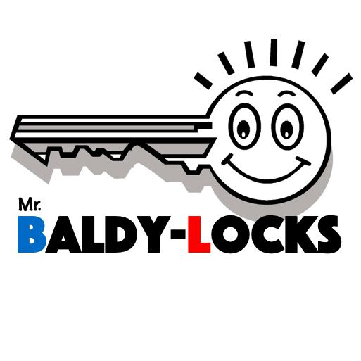 Mr Baldy-Locks logo