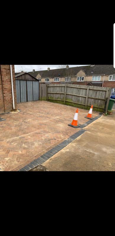 Image 68 - New driveway installation