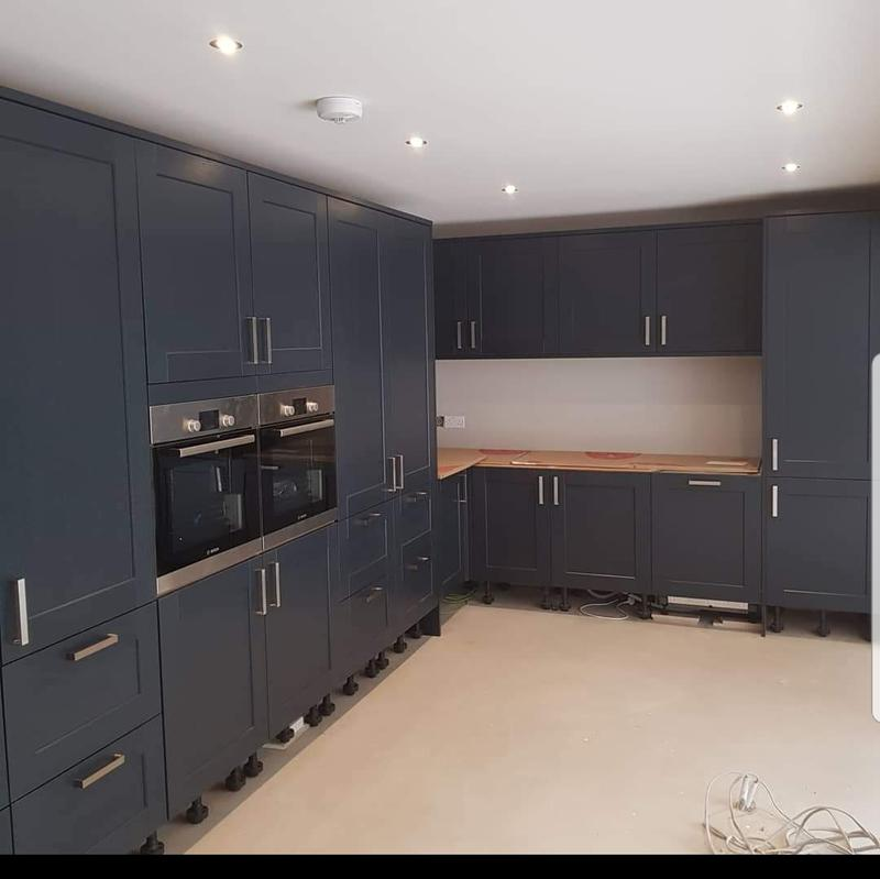 Image 4 - New Kitchen Installation-House Extension to create open plan Kitchen Diner -Fleet