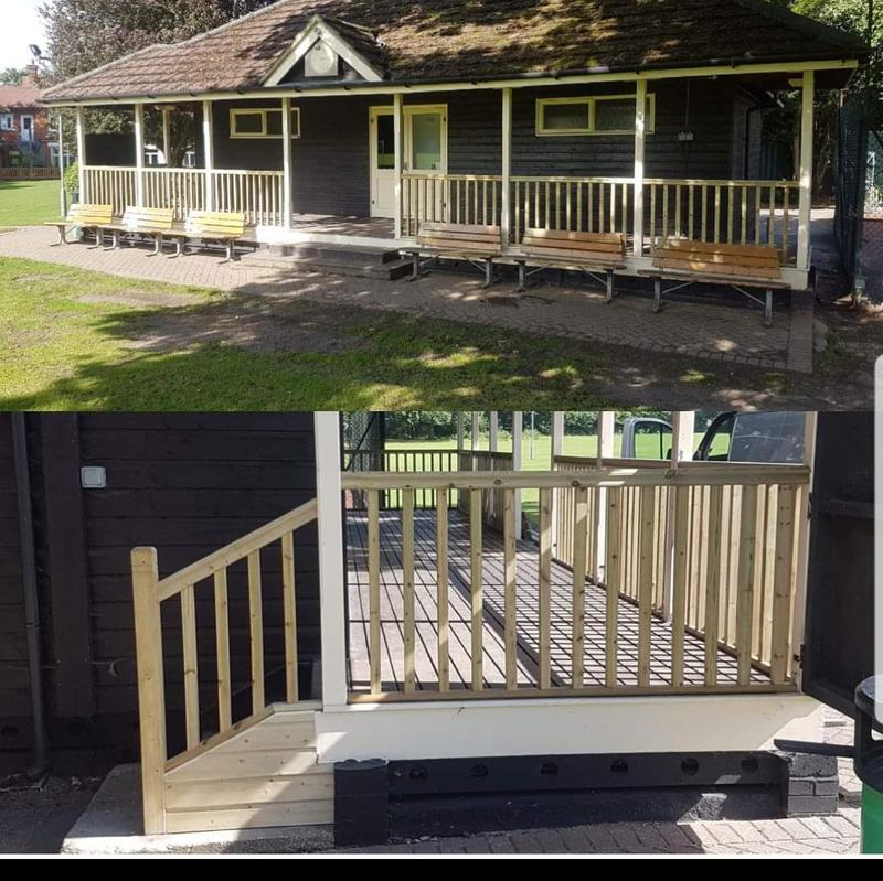 Image 13 - Cricket pavilion Refurbishment in Yateley Manor School