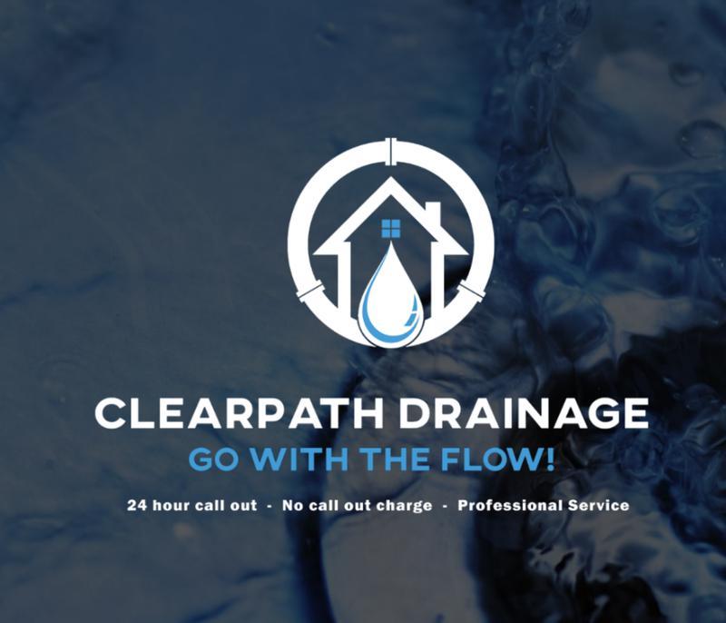 Clearpath Drainage logo