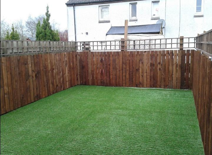 Image 15 - Lawn and fencing