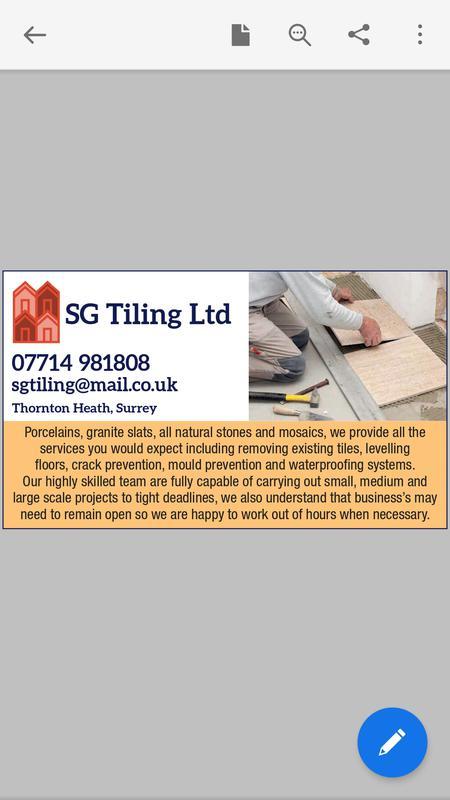 SG Tiling Ltd logo