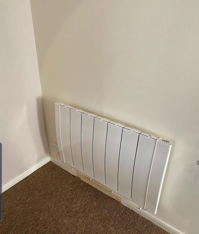 Image 31 - Client requested to have a electric heater installed in their property in Knightsbridge London