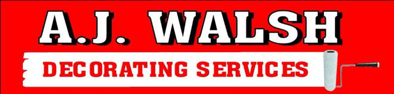 AJ Walsh Decorating Services logo