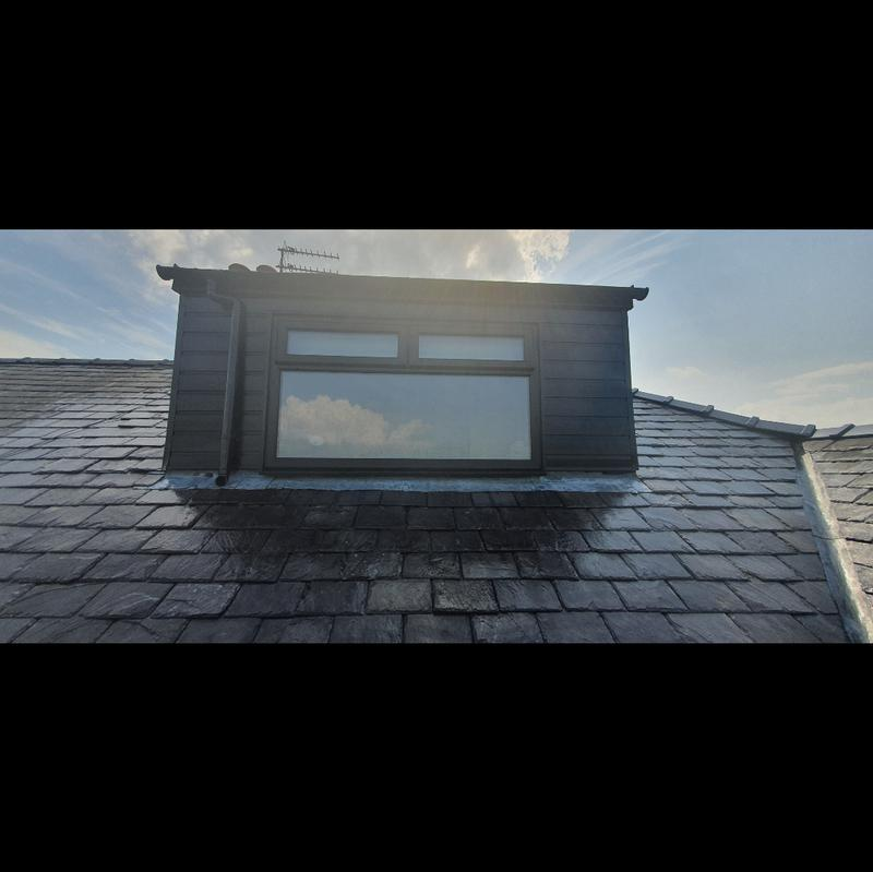 Image 33 - brand new dorma, cladding, firestone Rubber roof and new window