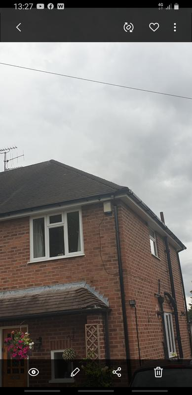 Image 81 - Fsg, Fascia, soffits and guttering plus down pipes all new installed for the customer following her dry Ridges, happy customer.
