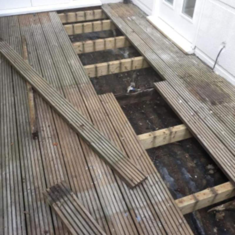 Image 266 - Decking installation