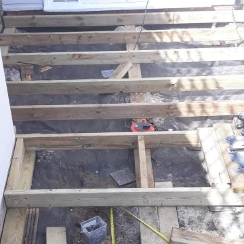 Image 265 - Decking installation