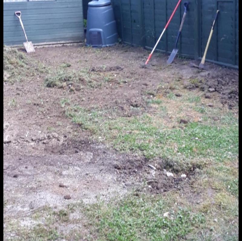 Image 262 - Lawn resurfacing