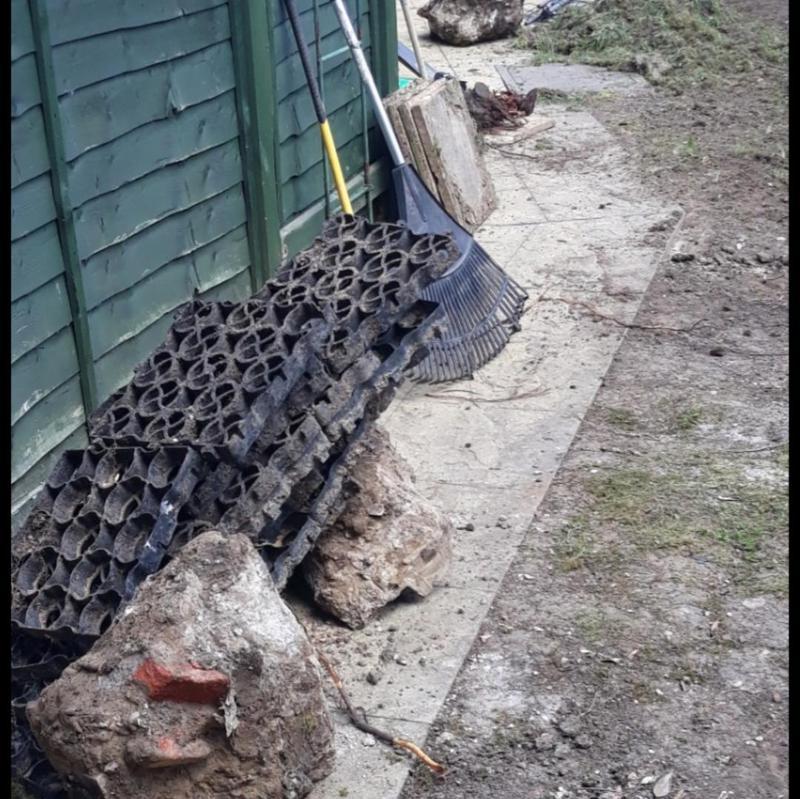 Image 261 - Garden resurfacing