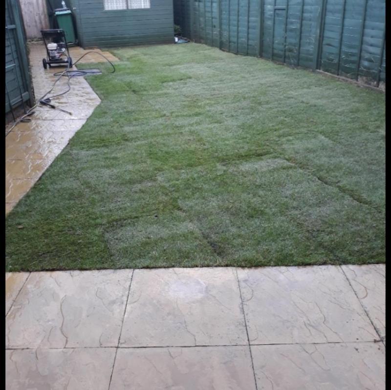 Image 258 - Lawn resurfacing and design