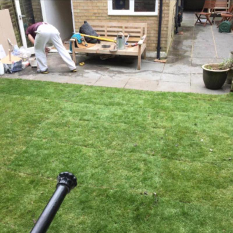 Image 238 - Lawn resurfacing and patio design and relay