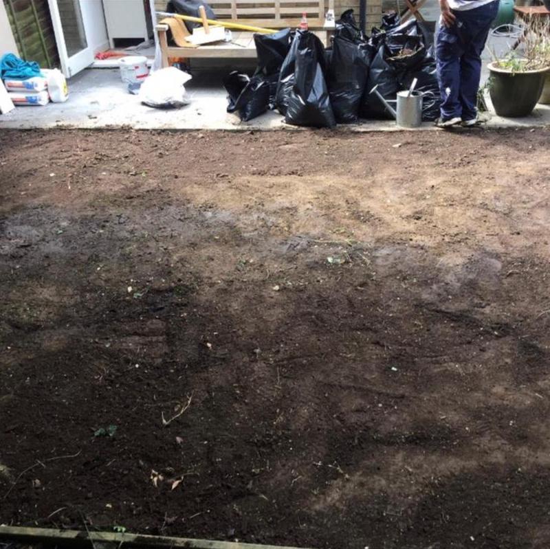 Image 234 - Lawn resurfacing