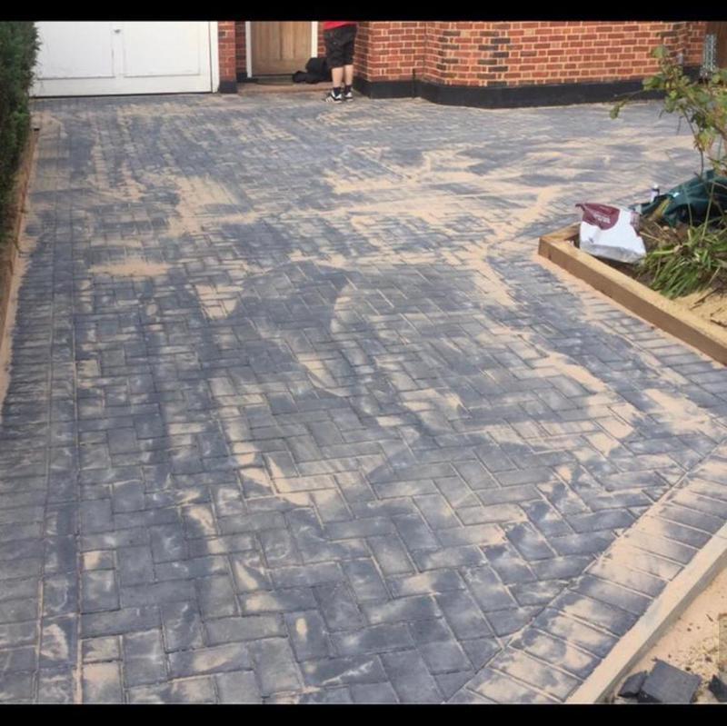 Image 232 - Block paved driveways