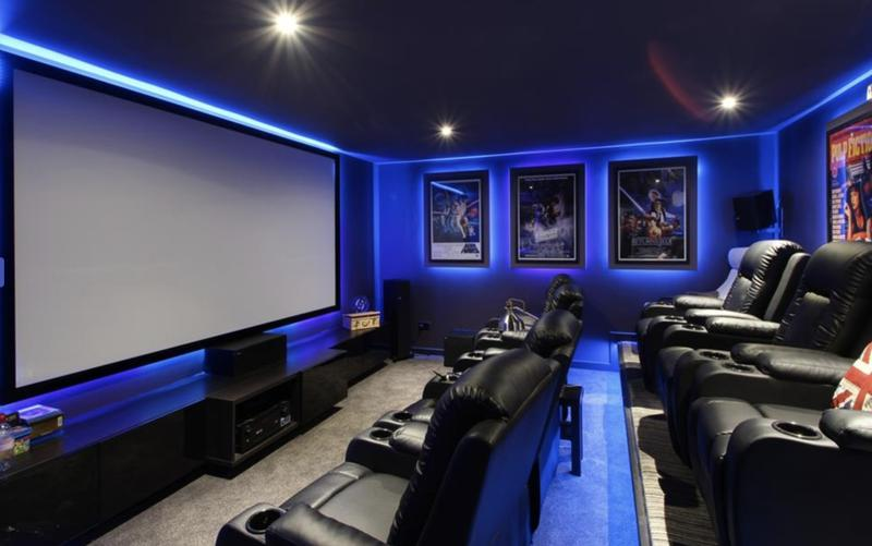Image 16 - Bespoke garden room home cinema designed and created by Leadway