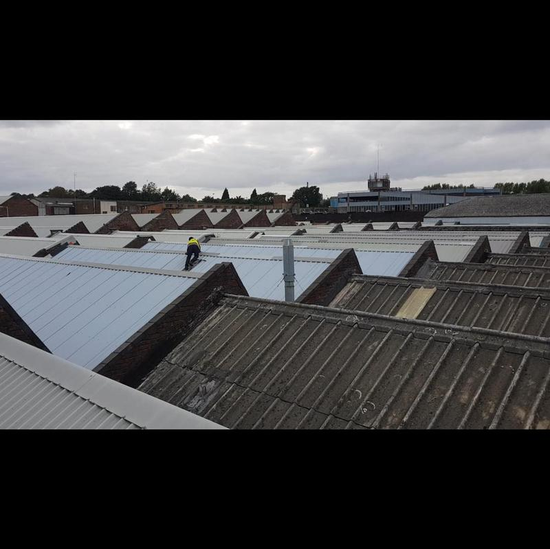Image 48 - Working on a 10kSQM site. Changing asbestos roof to metal cladding. Lots more pictures and videos available to show step by step guide on how we work.