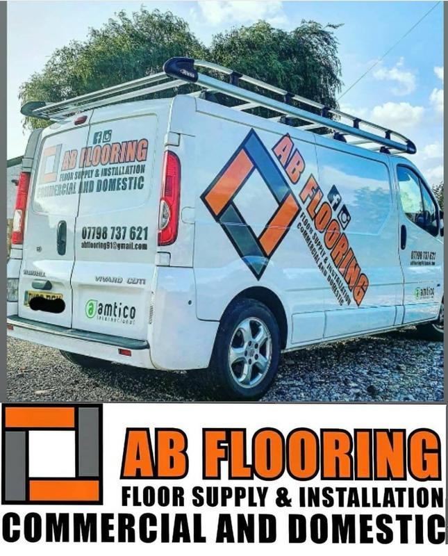 AB Flooring logo