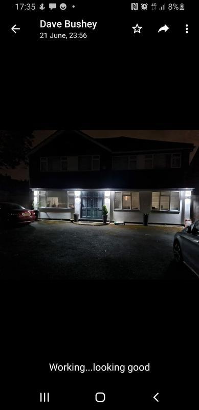 Image 30 - Dusk til dawn outside LED lights i installed on a 6 bedroom house i rewired