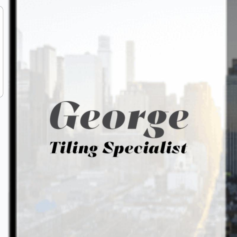George Constructions Tiling Specialist logo