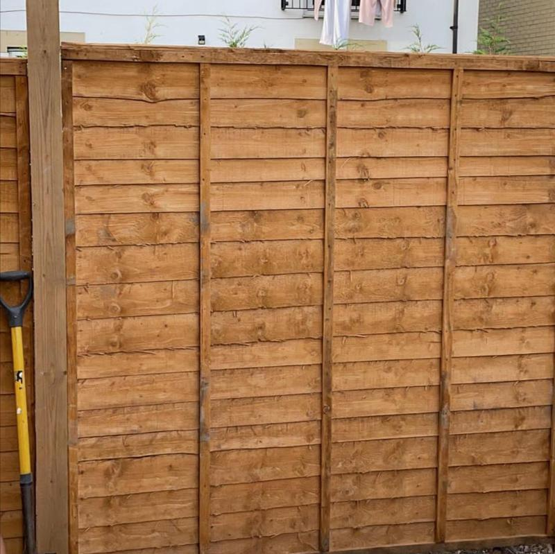 Image 1 - Supply and fit new panel fencing.
