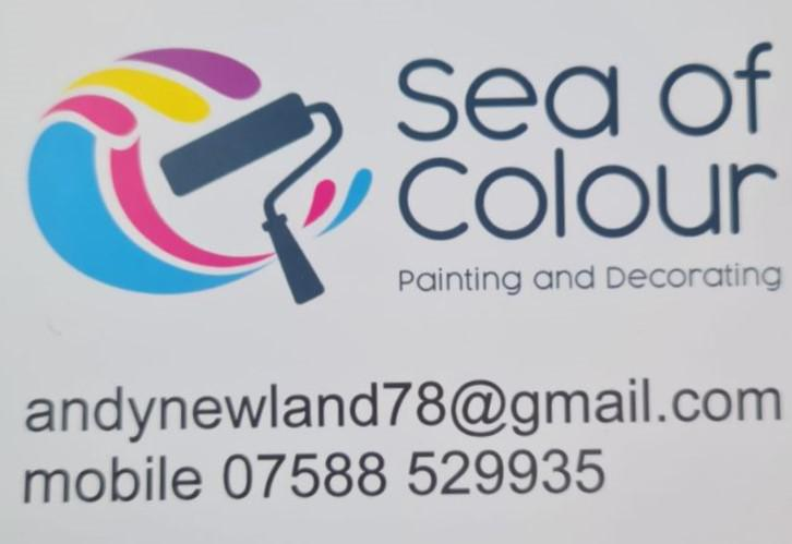 Sea of Colour Painting & Decorating logo
