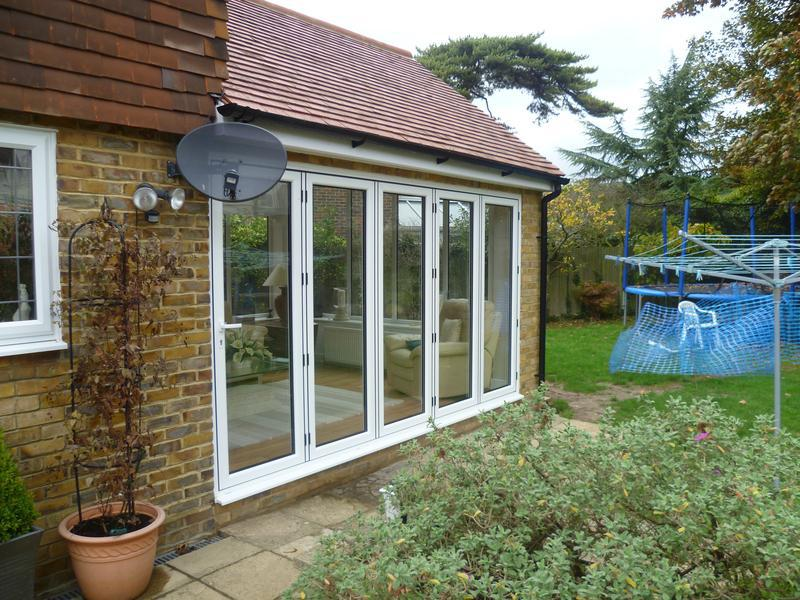 Image 16 - Bi-fold doors creating a panoramic garden room