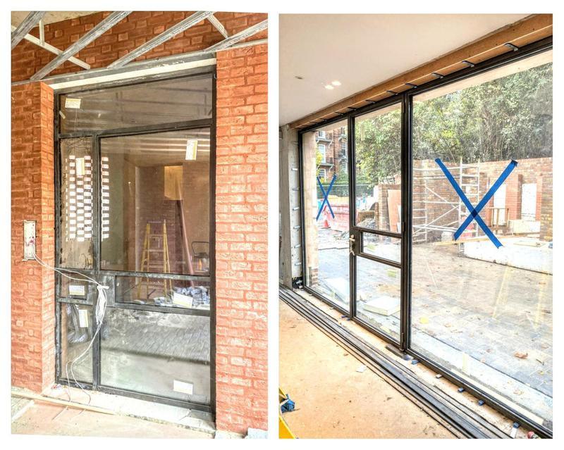 Image 2 - Bronze windows/doors.