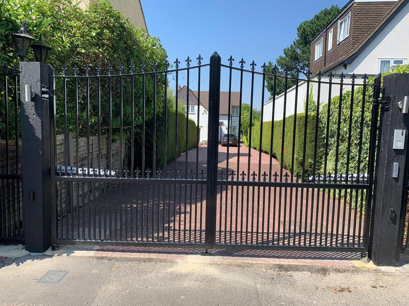 Image 3 - Automated driveway gates with access control